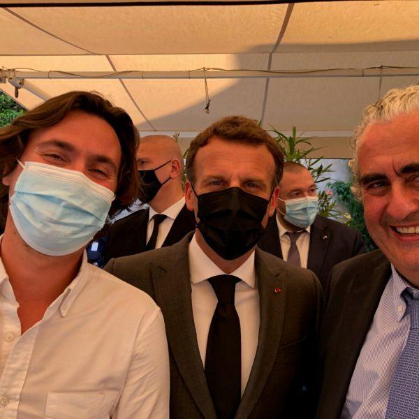Patrick, Louis et Macron