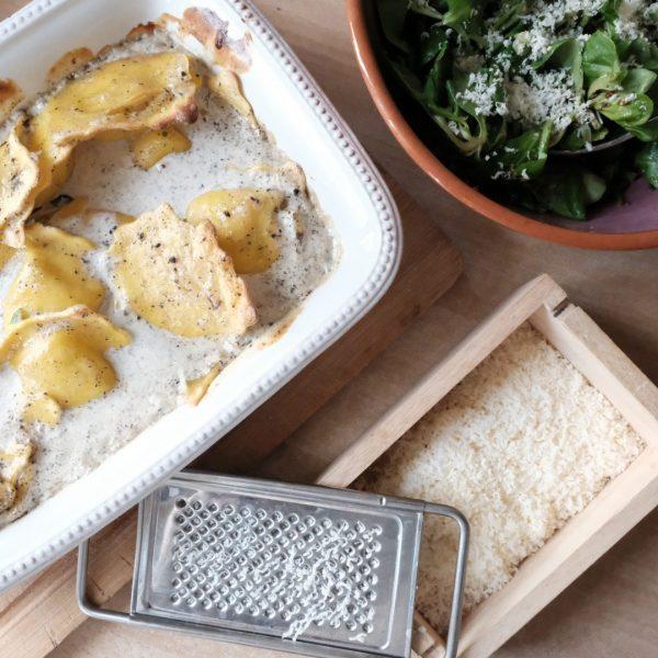 Raviolis à la truffe
